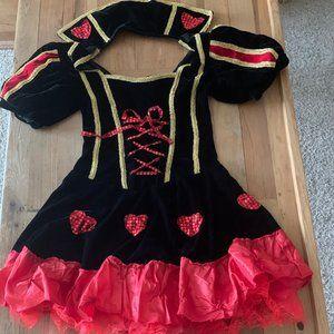 Spirit Halloween Queen of Hearts Costume Bundle